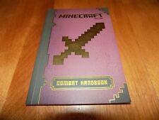 MINECRAFT COMBAT HANDBOOK Stephanie Milton Mojang Game Guide Gaming Book