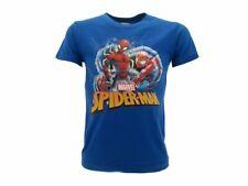 T shirt Spider-man Originale Marvel Ultimate Blu maglia maglietta ufficiale