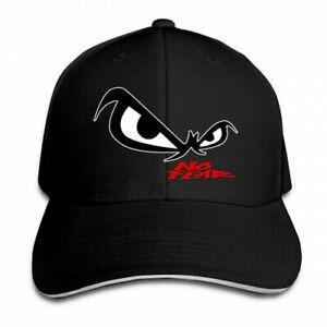 No Fear Owl's Eyes Sandwich Visor Low Profile Pro Style Baseball Cap Hat