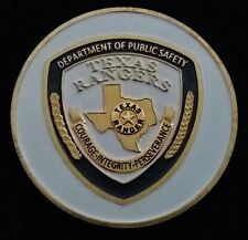 BEAUTIFUL TX Texas Rangers DPS Police Officer Department TxDPS Challenge Coin