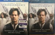 Transcendence (Blu-ray, DVD, Digital HD) NEW SEALED WITH SLIPCOVER