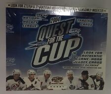 2003-04 Pacific Quest for The Cup Factory Sealed Hobby Hockey Box