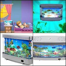 Artificial Aquarium Toy For Kids Virtual Ocean Tropical Fish Tank Small