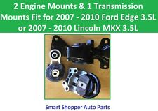 2 Engine & 1 Transmission Mount Fit 2007 2008 - 2010 Lincoln MKX, Ford Edge 3.5L