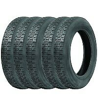 155TR15 Michelin X set of five (5) VW Beetle Classic tyres