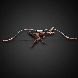 """54"""" Archery Recurve Hunting Bow Traditional Horse Longbow Right Left Hand 70 Lbs"""