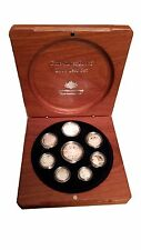 2006 Fine Silver Coin Year Set Australia decimal currency inc 1 & 2 cent coins