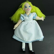 "Walt Disney Alice In Wonderland 10"" Plush Bean Bag Doll"