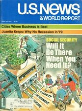 1979 U.S. News & World Report: Social Security Will it Be There When You Need It