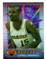 Latrell Sprewell, 1993-94 Topps Finest Ironman Card #9 Golden State Warriors NBA