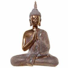 GOLD AND WHITE THAI LOTUS BUDDHA ORNAMENT