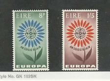 Ireland, Postage Stamp, #196-197 Mint Hinged, 1964 Europa