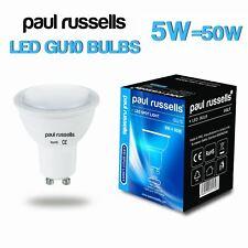 UK 240V LED Spotlight GU10 E27 E14 B22 3W 4W 5W Bulbs WW=2700K CW=4000K DL=6500K
