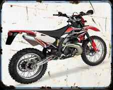 Gas Gas Ec 250 06 A4 Metal Sign Motorbike Vintage Aged