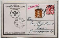 GERMANY to AUSTRIA 1928 ZEPPELIN, Eckener-Spende/Airship-Fund Flight Card,Nutley