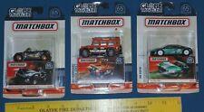 Matchbox Lot of 3 Globe Travelers Land Rover Audi Mini Cooper - die cast cars