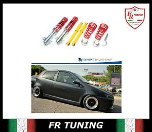 ASSETTO REGOLABILE A GHIERA FIAT PUNTO 188 TA TECHNIX COILOVER MK 2 3