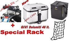 BAULE GIVI TREKKER DOLOMITI DLM46 46 LT+ SR689 BMW  R1200 GS 2004-12 + T511+E144