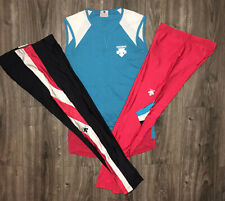 Descente Bicycling Cycling LOT 2 Pairs Of Mens Medium Pants, 1 Mens Large Shirt