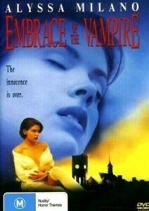 Embrace of the Vampire DVD Alyssa Milano New and Sealed Australia