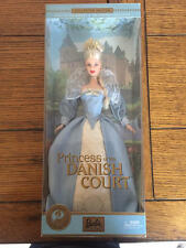 NEW Barbie Dolls of the World Princess Collection Princess of the Danish Court