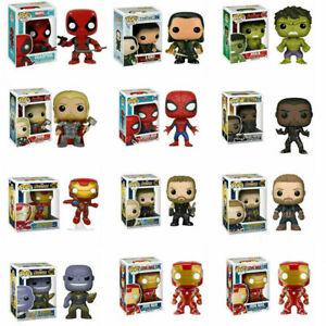 Funko Pop tv series / Marvel Super Hero Squad Captain America Vinyl Kids Figures