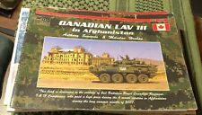 Canadian LAV III in Afghanistan Modeller Photo Assistant MPA 001 Sewards RARE
