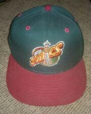 VTG Seattle Supersonics New Era Fitted Hat 1994 NBA Basketball Sonics Size 6 5/8