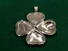 Vintage 925 Sterling Silver Heart Locket on Box.
