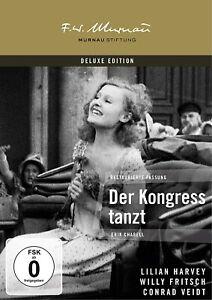 Der Kongreß tanzt - Deluxe Edition (1931)[DVD/NEU/OVP] Murnau Stiftung
