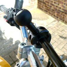 "Ultimate Addons Bike Motorcycle Crossbar / Rail Mount 1"" Ball fits RAM & Motech"