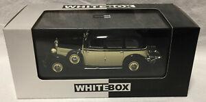WhiteBox 1:43: Mercedes Typ 260D W138 cream/black '36