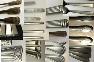 CAMBRIDGE Flatware lots - Choose your Stainless Silverware Pattern Lot