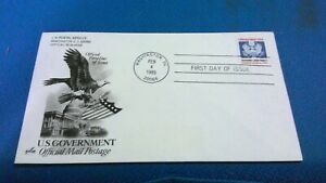 "Scott #O139 ""D"" Domestic Letter Rate Official Mail USA stamp first day issue"