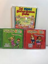 Kids music CD Lot, songtime Kids Silly songs, 25 more Sunday school songs church