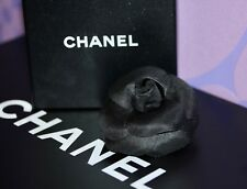 Chanel MOST WANTED **Camellia Flower Brooch** Silk Large 3-D Corsage Lapel Pin!!