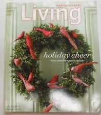 Martha Stewart Living Magazine Holiday Cheer December 2005 070215R2