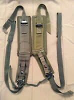 Good ALICE Pack OD Green Combat Pack Shoulder Straps Set Complete US Army/USMC