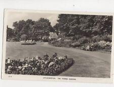 Littlehampton The Marina Gardens 1958 RP Postcard Mason 195b