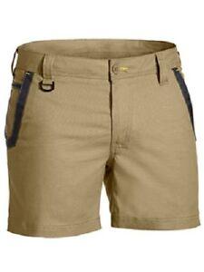 BISLEY Work Shorts Flex and Move Short Shorts TRADESMAN  STRETCH SHORTS BSH1131