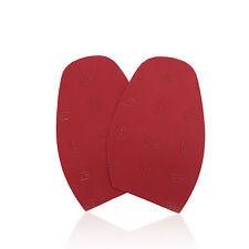 Vibram Designer Shoe Grip Pads Non-Slip Rubber Sole Protect - Half Sole - Red