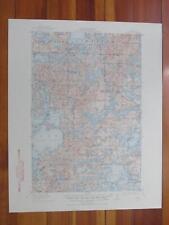 Vergas Minnesota 1948 Original Vintage USGS Topo Map