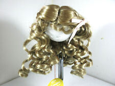 Monique Collection Doll Wig 'Erika' Wavy Light Brown Blonde Size 12-13 14-15