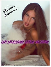 BRINKE STEVENS AUTOGRAPHED BILL STERLING COLOR PHOTO FOG BOWL TOPLESS 6