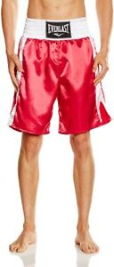 BRAND NEW Everlast Boxing Trunks Mens Boys Competition Shorts Size Small BNWT