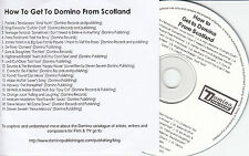 How To Get To Domino From Scotland UK 19-trk promo CD FRANZ FERDINAND