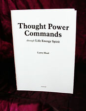 THOUGHT POWER COMMANDS, Larry Hoole. Finbarr. Powerful Occult Grimoire, Magick