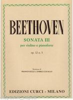 Beethoven: Sonata Für Violine E Klavier N.3 Op.12 - Curci