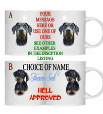 DOBERMAN DOG PESONALISED/FUNNY/OWN PHOTO MUG
