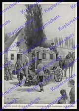 Otto v.d. Wehl Reichspost Kaiserlich Deutsche Feldpost Postkutsche III. Div 1914